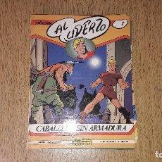Cómics: CÓMICS....COLECCIÓN ---AL UDERZO...NÚMERO 1.....CABALLERO SIN ARMADURA....EDICIONES JÚNIOR...1989.... Lote 132004638