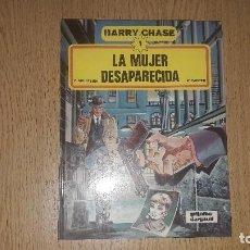 Cómics: CÓMICS....HARRY CHASE. ....NUMERO 1...LA MUJER DESAPARECIDA....C.MOLITERNI- W.FAHRER....1981.... Lote 132013722