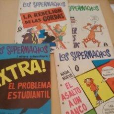 Cómics: LOS SUPERMACHOS - NUMERO EXTRA, Nº 259 ,260, 263, . Lote 132250994