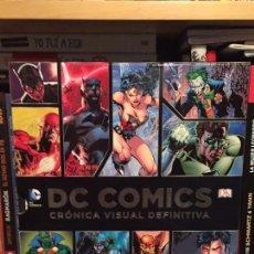 Cómics: DC COMICS: CRÓNICA VISUAL DEFINITIVA. PEARSON EDUCATION.. Lote 132302626