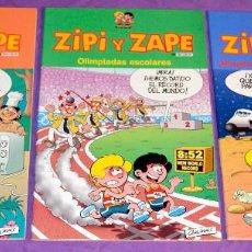 Cómics: LOTE 3 COMICS ZIPI Y ZAPE. Lote 132465082