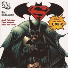 Cómics: COMIC-SUPERMAN BATMAN Nº 1 DC COMICS PLANETA. Lote 132557678