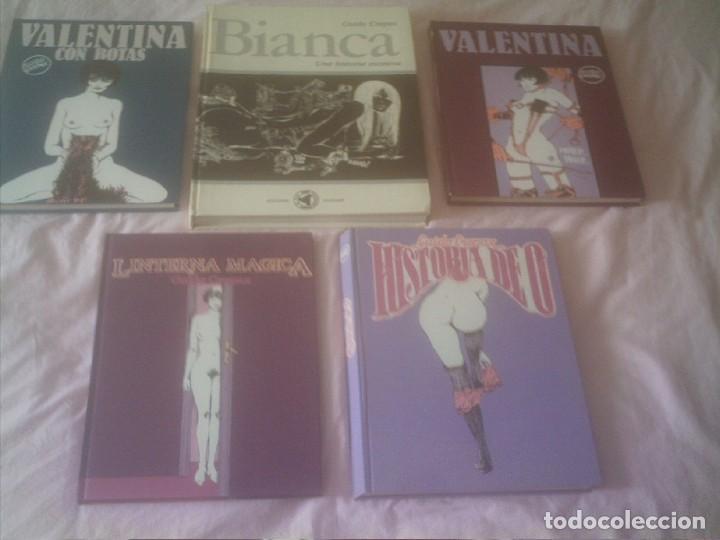 Cómics: VALENTINA ,BIANCA ,HISTORIA DE O ,GUIDO CREPAX - Foto 2 - 132586274