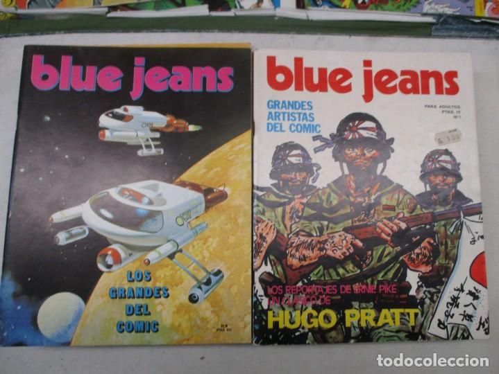 COLECCION BLUE JEANS DEL 1 AL 16 MUY BUEN ESTADO NUEVA FRONTERA (Tebeos y Comics - Comics Pequeños Lotes de Conjunto)