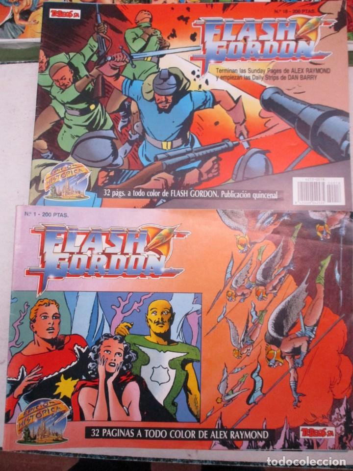 Cómics: COLECCION FLASH GORDON - ALEX RAYMOND COMPLETA + DAN BARRY 30 EJEMPLARES - EDICION HISTORICA - Foto 1 - 132634010