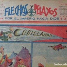 Cómics: FLECHAS Y PELAYOS. Nº 126. MAYO 1941.. Lote 132684882