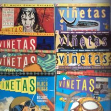 Cómics: VIÑETAS , COLECCION COMPLETA EN 14 EJEMPLARES ( FALTA Nº 13 ) -EDITA : EDICIONES GLENAT. Lote 43186486