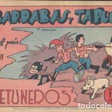 Cómics: AVENTURAS DE BARRABÁS Y TARUGO: EN EL PAIS DE LOS BETUNEROS. Lote 132746870