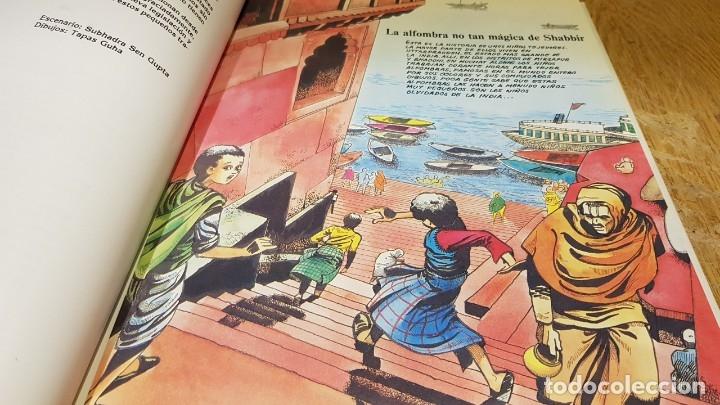 Cómics: TRABAJADORES DE DIEZ AÑOS / TINI-JODE-SHABBIR / ED - INTERMON / TAPA DURA / COMO NUEVO. - Foto 4 - 132751202