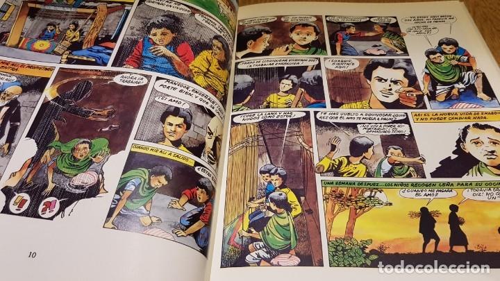 Cómics: TRABAJADORES DE DIEZ AÑOS / TINI-JODE-SHABBIR / ED - INTERMON / TAPA DURA / COMO NUEVO. - Foto 5 - 132751202