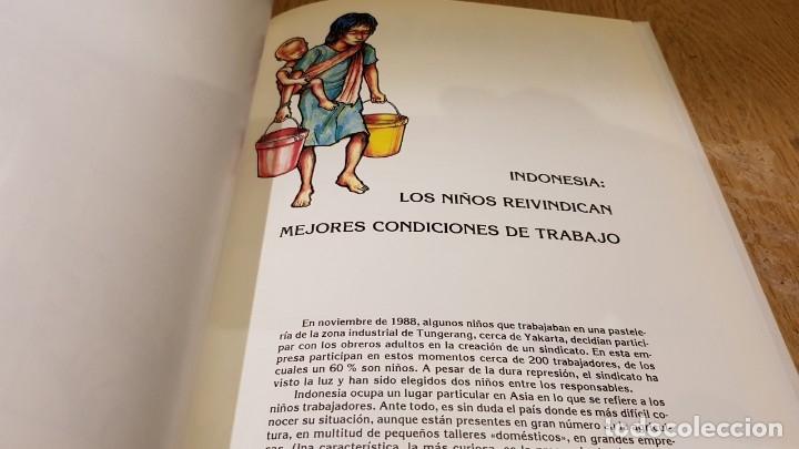 Cómics: TRABAJADORES DE DIEZ AÑOS / TINI-JODE-SHABBIR / ED - INTERMON / TAPA DURA / COMO NUEVO. - Foto 8 - 132751202