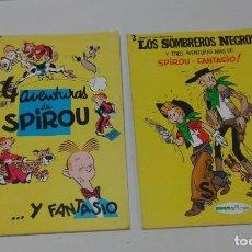 Cómics: LOTE DE 2 TOMOS DE SPIROU Y FANTASIO. REVISTA SPIROU. AÑOS 1980.. Lote 132759126