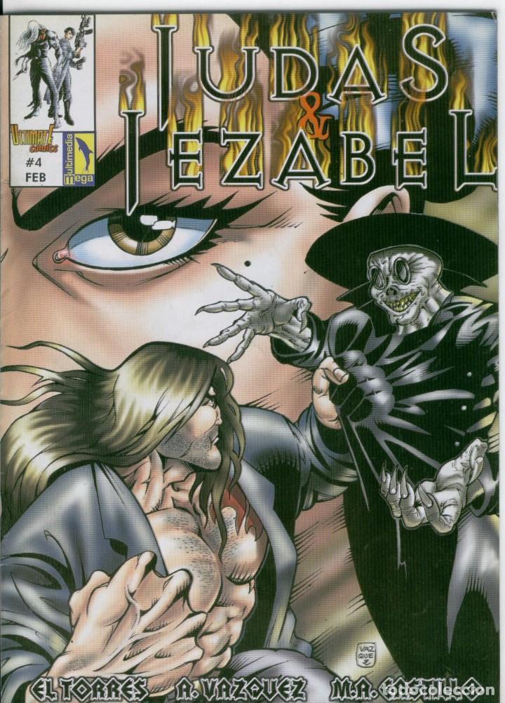 JUDAS & JEZABEL N.4 (Tebeos y Comics - Comics otras Editoriales Actuales)