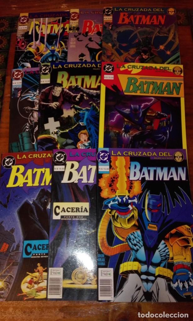BATMAN - LA CRUZADA DEL MURCIÉLAGO.(COLECCIÓN COMPLETA).ED.VID. (Tebeos y Comics - Comics Colecciones y Lotes Avanzados)