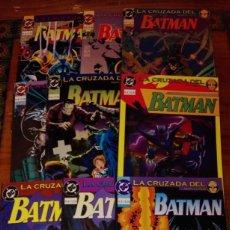 Cómics: BATMAN - LA CRUZADA DEL MURCIÉLAGO.(COLECCIÓN COMPLETA).ED.VID.. Lote 132949406