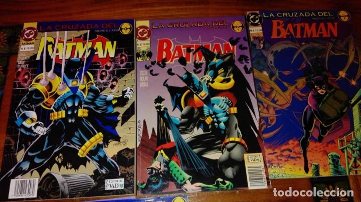 Cómics: BATMAN - LA CRUZADA DEL MURCIÉLAGO.(COLECCIÓN COMPLETA).ED.VID. - Foto 2 - 132949406