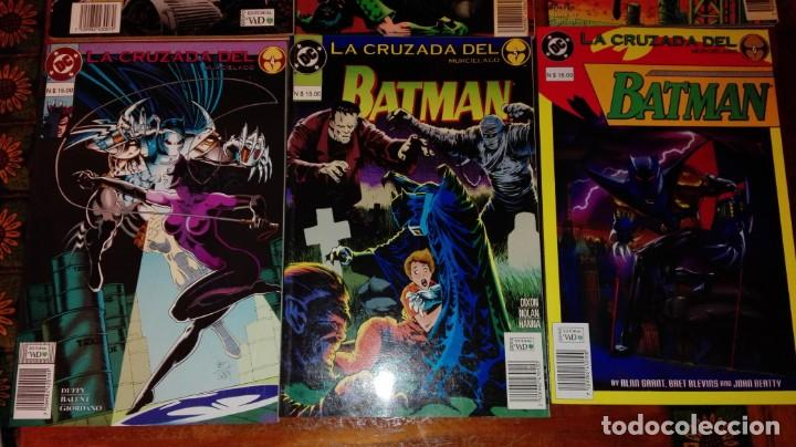 Cómics: BATMAN - LA CRUZADA DEL MURCIÉLAGO.(COLECCIÓN COMPLETA).ED.VID. - Foto 3 - 132949406