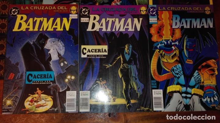 Cómics: BATMAN - LA CRUZADA DEL MURCIÉLAGO.(COLECCIÓN COMPLETA).ED.VID. - Foto 4 - 132949406