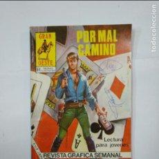 Cómics: GRAN OESTE. - POR MAL CAMINO - Nº 487 - PRODUCCIONES EDITORIALES. TDKC21. Lote 132955734