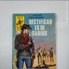 Cómics: GRAN OESTE Nº 472. RECTIFICAR ES DE SABIOS. PRODUCCIONES EDITORIALES. TDKC21. Lote 132955830