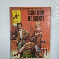 Cómics: CUESTIÓN DE SUERTE. GRAN OESTE Nº 485. REVISTA GRÁFICA SEMANAL. PRODUCCIONES EDITORIALES. TDKC21. Lote 132955930