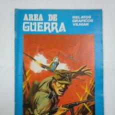 Cómics: AREA DE GUERRA. RELATOS GRAFICOS VILMAR Nº 13. TDKC20. Lote 132977802