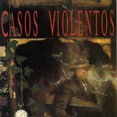 Cómics: CASOS VIOLENTOS - NEIL GAIMAN Y DAVE MCKEAN - ZINCO. Lote 133214134