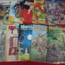 Cómics: LOTE DE TEBEOS DE MINI MUNDO. Lote 133237046
