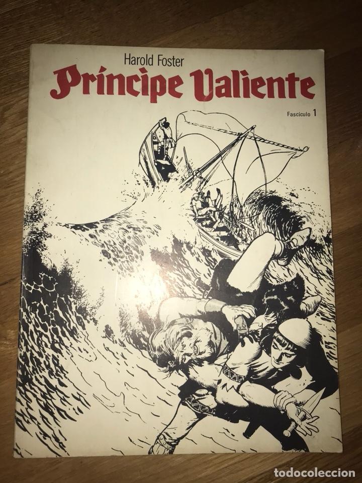 PRÍNCIPE VALIENTE HAROLD FOSTER FASCÍCULO 1 (Tebeos y Comics - Buru-Lan - Principe Valiente)