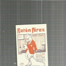 Cómics: RATON PEREZ P. LUIS COLOMA. Lote 133379342