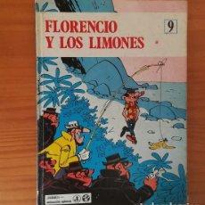 Cómics: EPITOM 9 FLORENCIO Y LOS LIMONES. COMIC TAPA DURA JAIMES LIBROS 1970. Lote 133397710