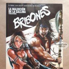 Cómics: BRIBONES LA MALDICIÓN DE LA GALLINA - EL TORRES Y VARIOS AUTORES - DIBBUKS - RÚSTICA - JMV. Lote 133567370