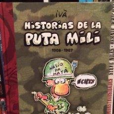 Cómics: HISTORIAS DE LA PUTA MILI 1986-1987, IVÀ DOLMEN. Lote 133660870
