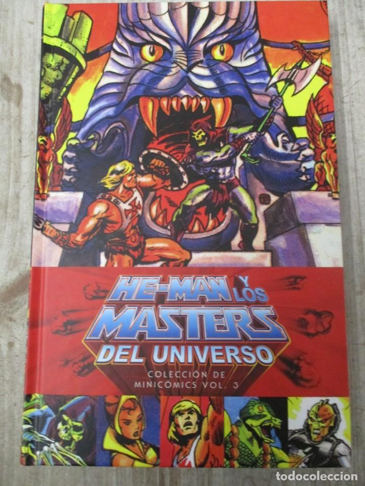 HE MAN Y LOS MASTERS DEL UNIVERSO COLECCION MINI COMICS Nº 3 TAPA DURA DC COMICS - ESTADO PERFECTO (Tebeos y Comics Pendientes de Clasificar)
