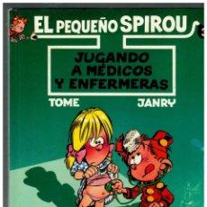 Cómics: LOTE DE 3 TOMOS DE EL PEQUEÑO SPIROU NºS 1,2 Y 3. -ED.B,1990-1992-1993- TODOS DE 1ª. EDICIÓN.. Lote 133752362