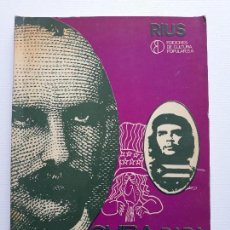 Cómics: CUBA PARA PRINCIPIANTES. RIUS (EDUARDO DEL RIO GARCÍA) EDICIONES DE CULTURA POPULAR. MEXICO DF. 1972. Lote 133776682