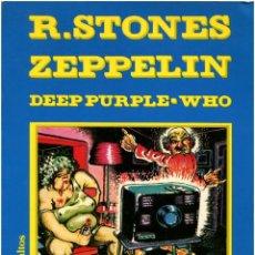 Cómics: ROCK DURO + ROLLING STONES - ALBUM ROCK COMIX - BARCELONA 1976. Lote 133787422