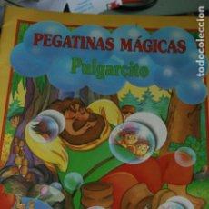 Cómics: CUENTO DE PULGARCITO CON PEGATINAS COMPLETO 1991. Lote 133913022