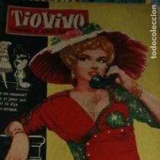 Cómics: TIO VIVO SEMARIO DE HUMOR MARILYN MONROE 1960. Lote 133914614