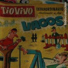 Cómics: TIO VIVOO EXTRAORDINARIO VAGOS 1960. Lote 133914670