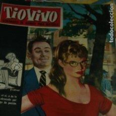 Cómics: TIO VIVO SEMANARIO DE HUMOR BRIGITTE BARDOT 1960. Lote 133914834