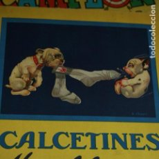 Cómics: LAMINA PUBLICIDAD ORIGINAL CALCETINES MOLFOR'S . Lote 133914978