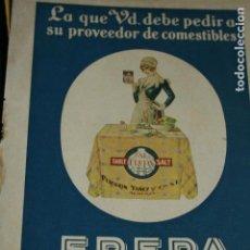 Cómics: ANTIGUA LAMINA PUBLICIDAD SAL FREPA. Lote 133915114