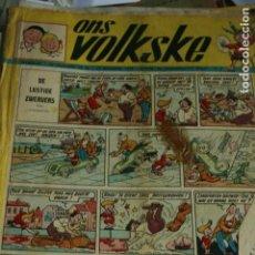 Cómics: COMIC ONS VOLKSKE BELGA 1958. Lote 133915206