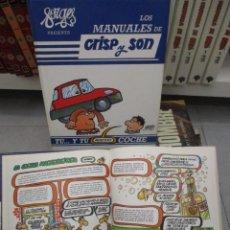 Cómics: COLECCION - LOS MANUALES DE CRISP Y SON - FORGES - 10 VOLUMENES - . Lote 133932418