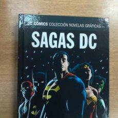 Cómics: HORA CERO / LA NOCHE FINAL (DC COMICS NOVELAS GRAFICAS - SAGAS DC #4) (ECC-SALVAT). Lote 133963970