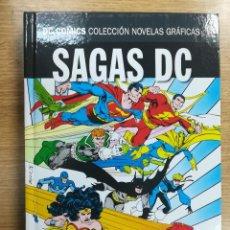 Cómics: LEYENDAS / MILLENNIUM (DC COMICS NOVELAS GRAFICAS - SAGAS DC #1) (ECC-SALVAT). Lote 133964178