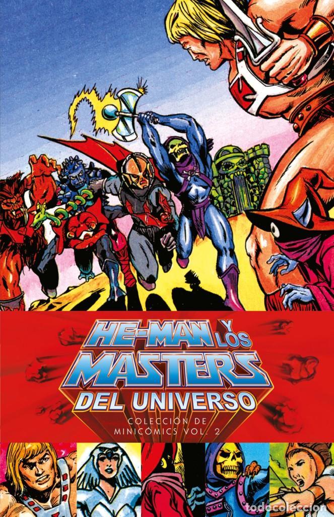HE MAN Y LOS MASTERS DEL UNIVERSO COLECCION MINI COMICS VOL 2 TAPA DURA ESTADO PERFECTO (Tebeos y Comics Pendientes de Clasificar)