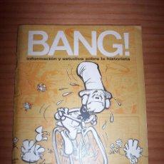 Cómics: ¡BANG! - INFORMACIÓN Y ESTUDIOS SOBRE LA HISTORIETA - NÚMERO 7-8 - AÑO 1972. Lote 134047050