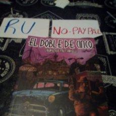 Cómics: EL DOBLE DE CINCO LOURENZO MUTARELLI COLECCIÓN BRASIL. Lote 134129733